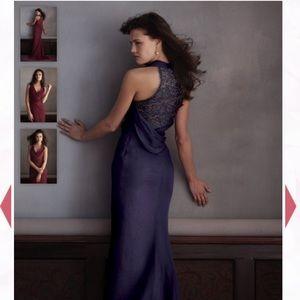Mackenzie Michaels Dresses - Mackenzie Michaels bridesmaid dress- night sky